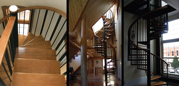 Picking Right Spiral Stairs