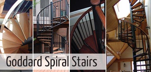 Goddard Spiral Stairs Blog