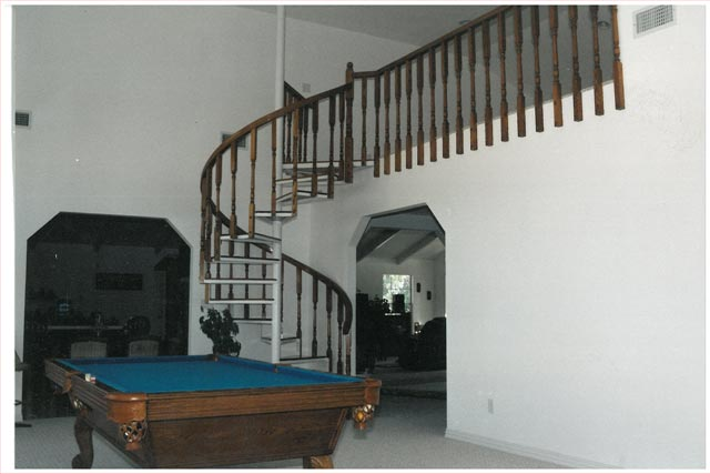 121 Interior Steel Staircase Wood Handrail