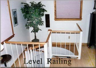 301 Interior Staircase Top Sectional Wood Handrail