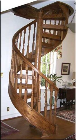 412 Indoor Wood Staircase Stringers