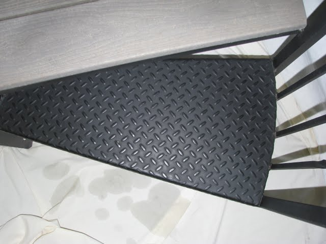 507 Tread Plate Steel Stair