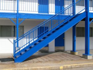 615 Exterior Steel Stairs