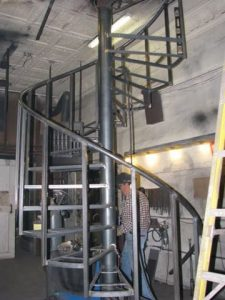 703 Interior Steel Staircase Work In Progress