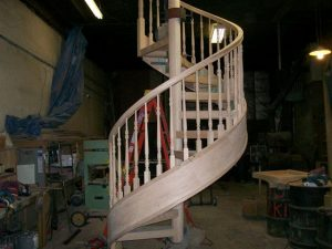 707 Wood Staircase Wood Balusters Work In Progress
